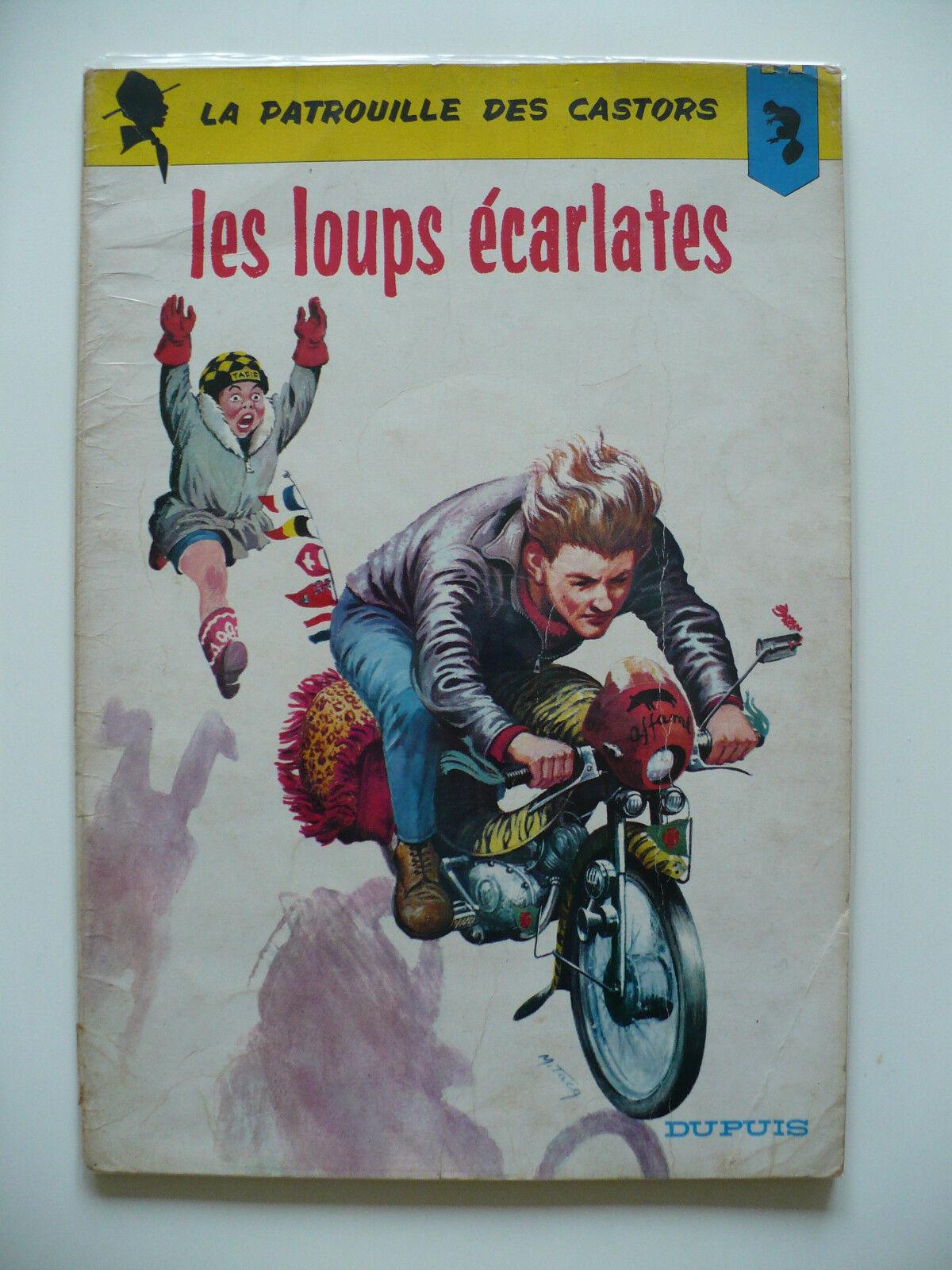EO (bel état) - La patrouille des Castors 11 (les loups écarlates) 1964 Mitacq