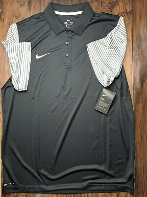 Nike Game Day Polo Men's Size X-Large Black Golf Tennis 845840-010
