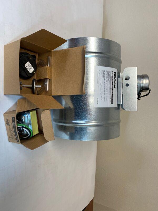 """Broan 8"""" Universal Auto Make-Up Air Damper W/ Pressure Sensor Kit 99527208"""