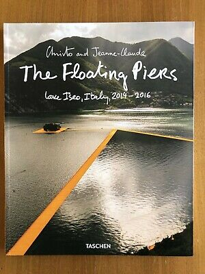 """Christo Autogramm signiert """"The Floating Piers"""" TASCHEN Buch"""