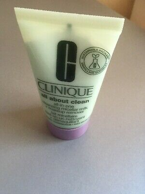 Clinique All About Clean Cleansing Micellar Milk + Makeup Remover Travel Size
