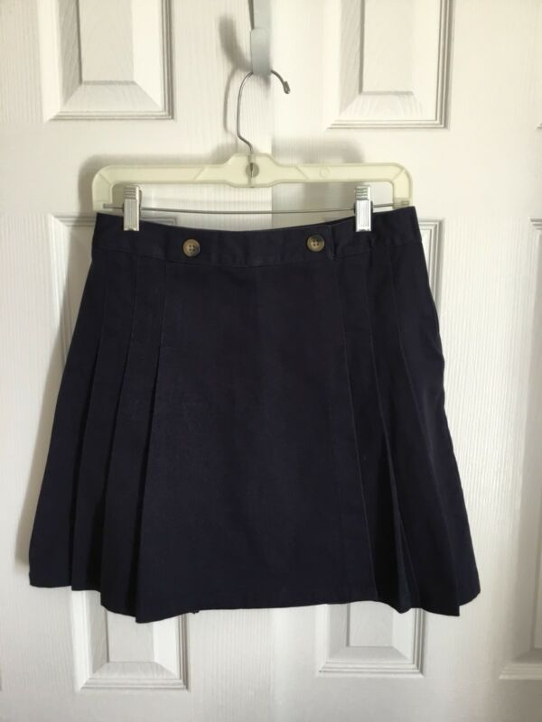 French Toast Navy Blue Scooter Skirt Size Girls 14