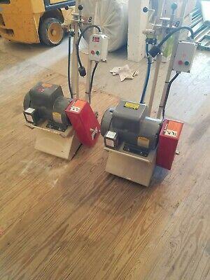 2 Edco Concrete Scarifier Cpm-8 Electric 220v