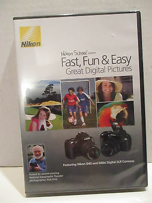 NIKON School DVD: Great Digital Pictures for D40 and D40x SLR Camera Photography