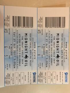 Midnight Oil Tickets (Hope Estate Winery Hunter Valley)