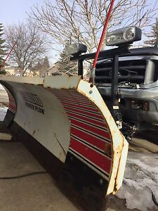 2001 Ford F-250 diesel with blizzard plow