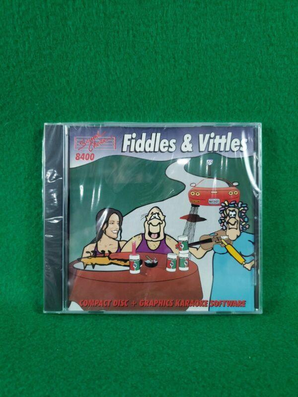 Karaoke Sound Choice CDG Disc 8400 Fiddles & Vittles