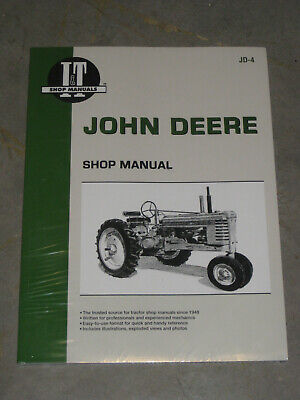 John Deere It Shop Service Overhaul Manual A B G H D Late Styled M Mt Jd4