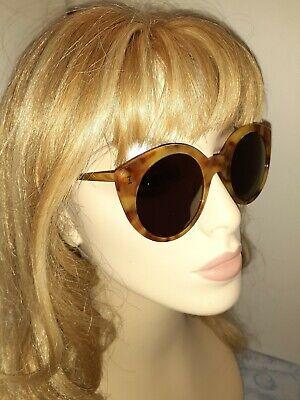 ILLESTEVA Palm Beach Round tortoise & Gold Sunglasses Handmade Italy