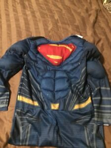 Padded superman costume size6-8