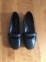 Ballerine noire imperméable de marque Timberland, pointure 6