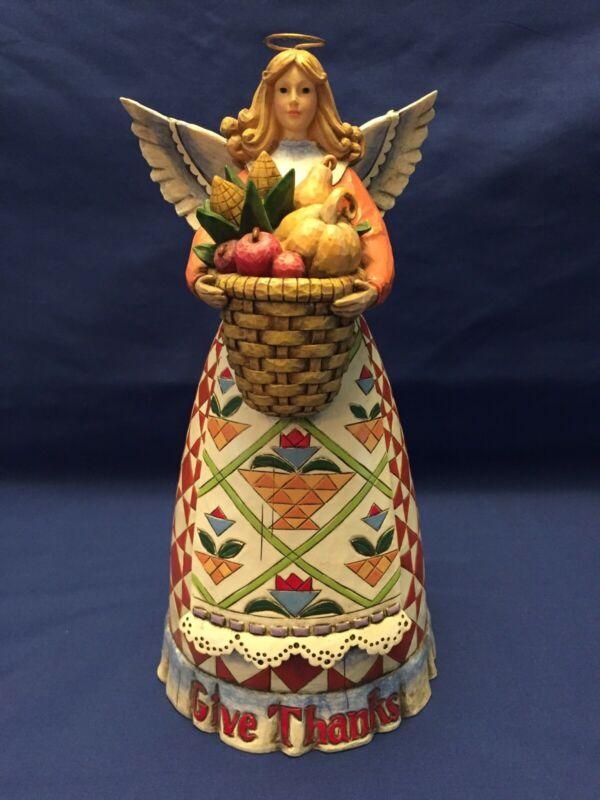 Jim Shore, Give Thanks, Angel Harvest Figurine (4006649)