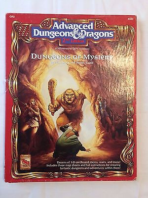 "Advance Dungeon & Dragons Dungeons of Mystery 3-D Game Accessory ""Unpunched"""