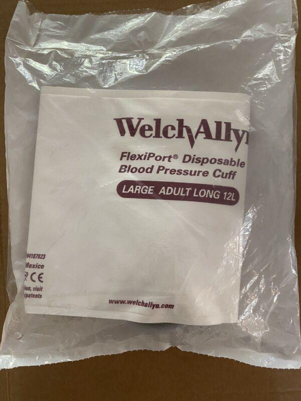 Welch Allyn SOFT-12-2BV BP Cuff, LG Adult, 2-tube BV 901044 NEW