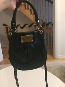 Authentic Marc by Marc Jacobs dark green leather bag