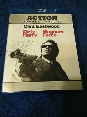 Dirty Harry/Magnum Force (Blu-ray Disc, 2010, 2-Disc Set)
