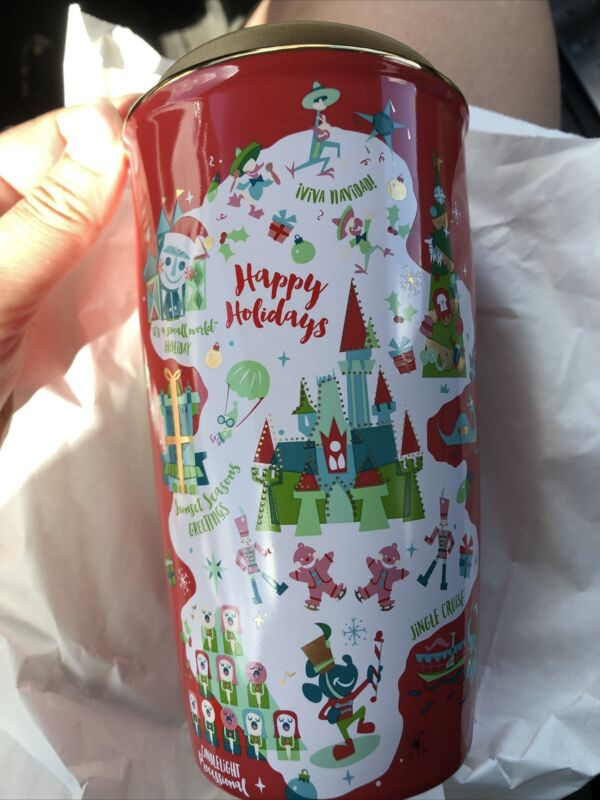 Disney Parks Disney World Starbucks Holiday Red Tumbler Mug 2020 New in Hand