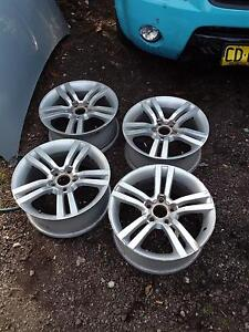 've ss rims with all center caps and wheel nuts Parramatta Parramatta Area Preview