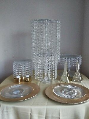 Crystal Chandelier Table Centerpiece](Table Chandelier Centerpieces)