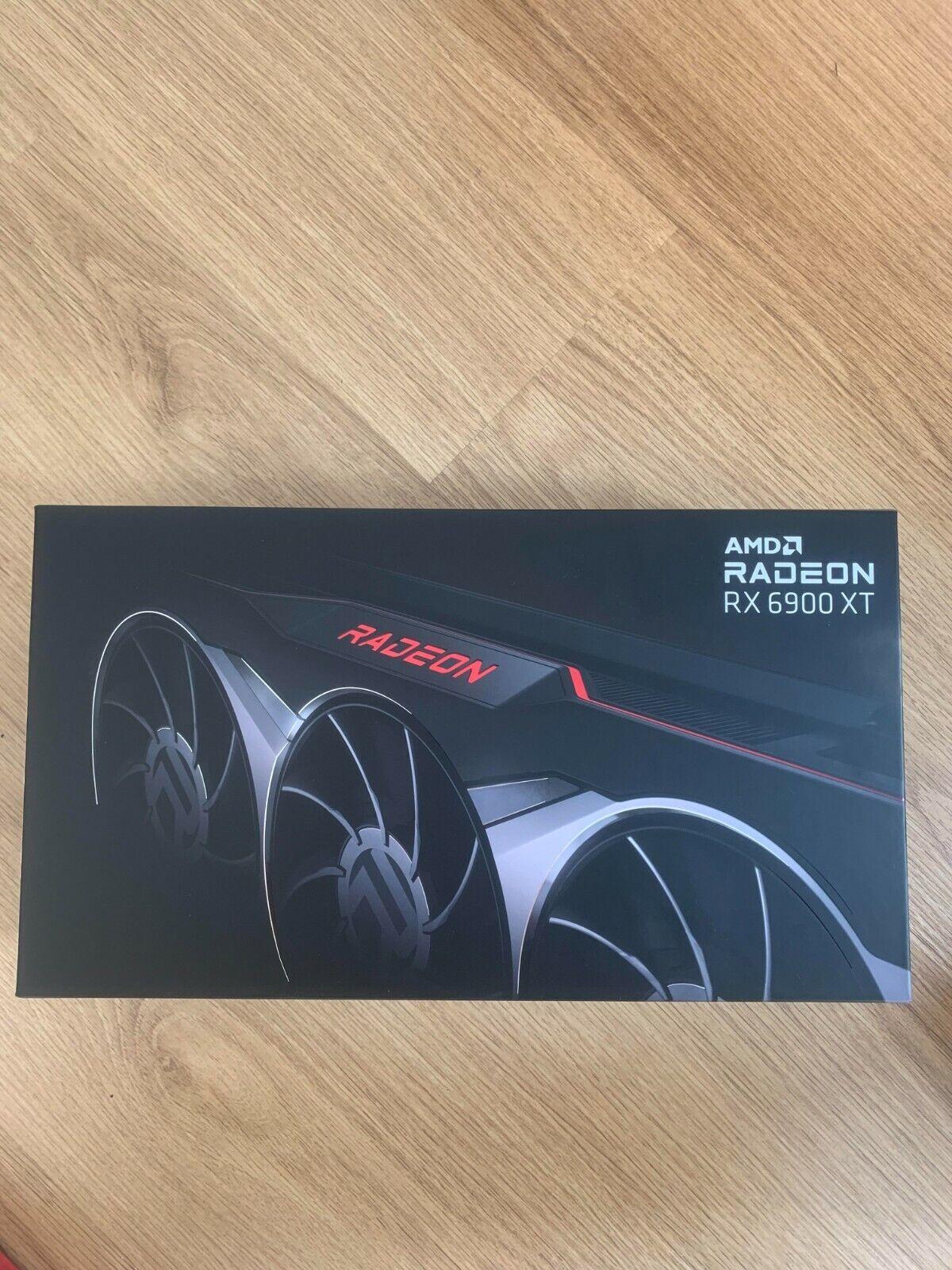 AMD Radeon RX 6900 XT - Grafikkarte - GDDR6 - 16 GB - NEU & OVP -