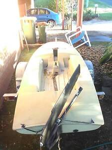 Good Jetski roller Trailer with Sailing dingy Coolangatta Gold Coast South Preview
