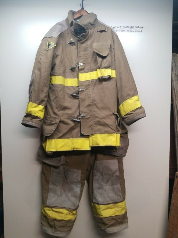 Firefighter turnout Bunker Gear Set Coat And Pants