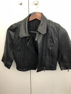 KOOKAI leather jacket size 36  e321302a0