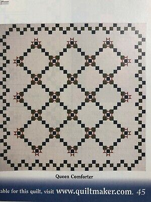PERIWINKLE CHAIN quilt pattern from a magazine, piecing queen or covid 19 (Chain Quilt Pattern coronavirus)
