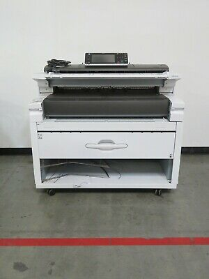 Ricoh Mpw6700 W6700 6700 Wide Format Printer Scanner Copier - 126k Meter