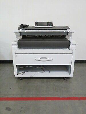 Ricoh Mpw6700 W6700 6700 Wide Format Printer Scanner Copier - 29k Meter