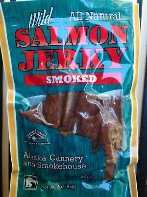 smoked salmon jerky wild Alaska all natural tasty delicious sustainable