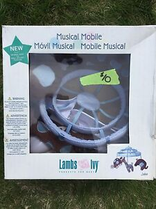 Lambs & Ivy musical mobile