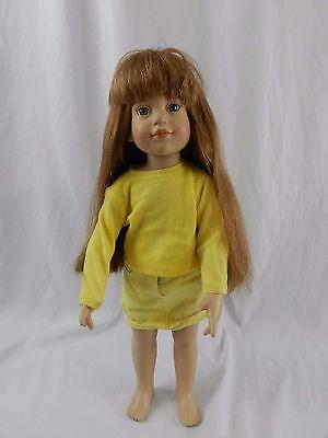 "Vintage 1996 Magic Attic Club Megan 18"" Doll Yellow Outfit"