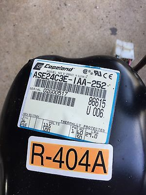Copeland Ase24c3e-iaa-252 From Hoshizaki Dcm-270 Air Cooled Ice Cube Maker