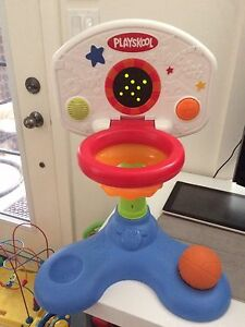 Playskool counting basketball