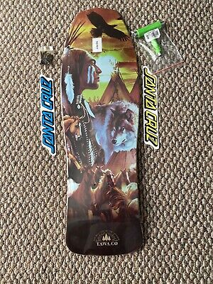 "Original Skateboard Old School Shapes By Tawa Maples 31""X9.75"" Clear Grip"