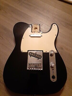 2004 Fender Telecaster MIM Loaded Body complete with pickups and neck plate