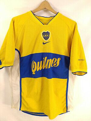 99a98a157bf Vintage Boca Juniors Jersey Argentina Riquelme Maradona Messi Brasil Mexico  XL