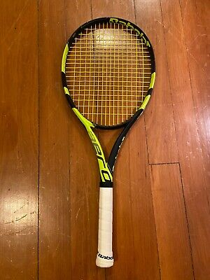 2018 Babolat Pure Aero Team grip 4 1/4 #2, excellent condition, tennis racket