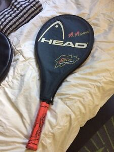 Two tennis rackets for sale, make reasonable offer