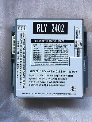 Kiddle-fenwal Rly2402 Lochinvar Ignition Module For Cw Cwn Ch Pb 192686