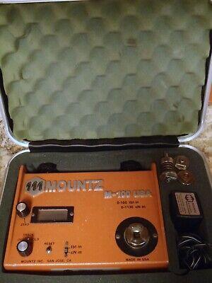 Mountz M-100 Analog Digital Torque Tester - Case Charger 3 Joint Simulators