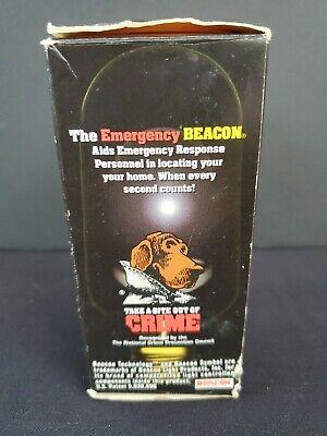 Vintage Emergency Strobe Beacon Light Bulb Scruff Mcgruff The Crime Dog
