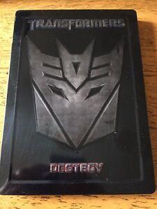 Transformers 2 disc steel book DVD