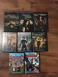 Vampire diaries Disney DVD's