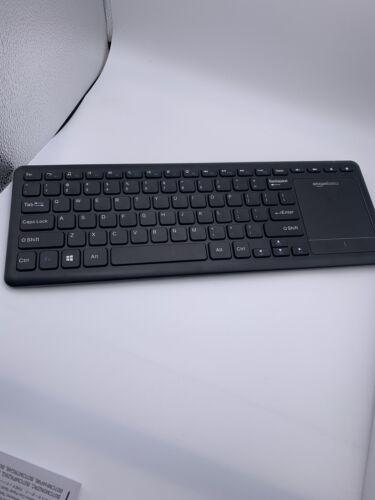 AmazonBasics Wireless Keyboard with Touchpad OPEN BOX