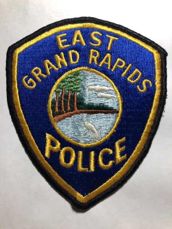 East Grand Rapids Michigan Police Patch