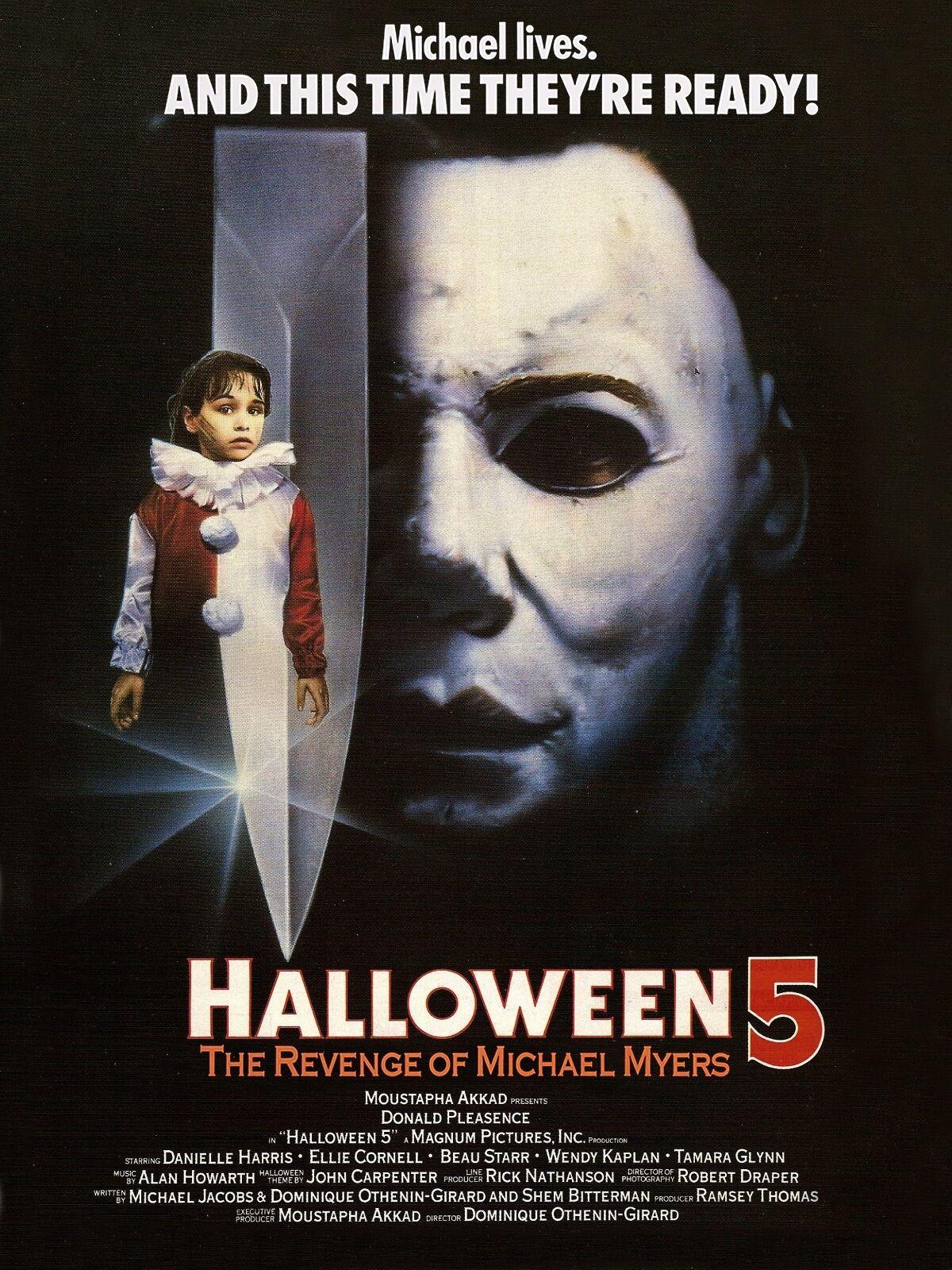 Michael Myers Poster | eBay