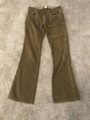 Hollister Junior's Corduroy Pants size 5 Tan