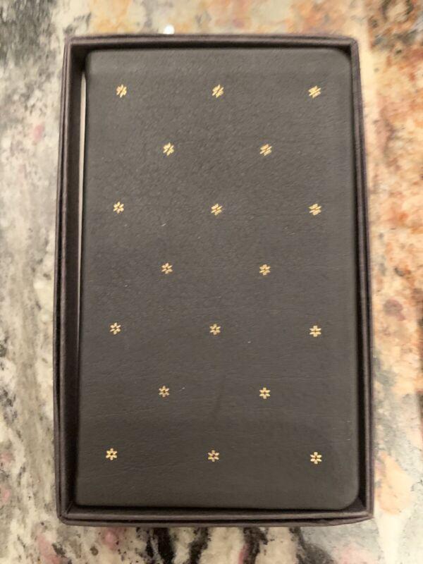 Vintage Michael Graves Leather Black 1991 Calendar Pocket Planner book